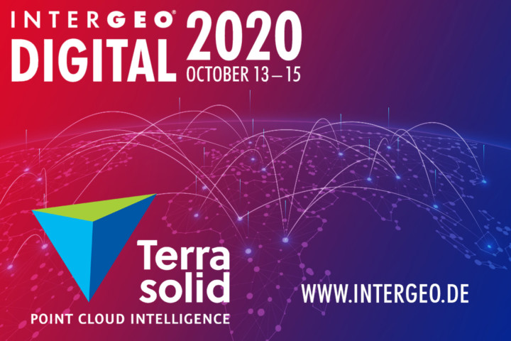 Terrasolid and Intergeo Digital 2020