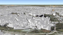 The first national 3D building model created using Terrasolid's TerraScan released